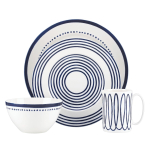 kate spade new york Charlotte Street West Porcelain 4 Piece Place Setting
