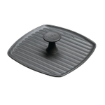 Le Creuset Satin Black Enameled Cast Iron 9 Inch Panini Press