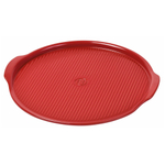 Emile Henry Burgundy Ceramic 14.6 Inch Large Pizza Stone