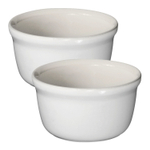 Emile Henry Sugar Ceramic 7 Ounce Ramekin, Set of 2