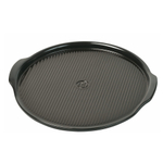 Emile Henry Charcoal Ceramic 14.6 Inch Large Pizza Stone