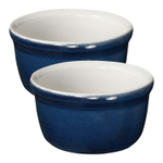 Emile Henry Twilight Ceramic 7 Ounce Ramekin, Set of 2