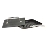 All Clad Hard Anodized Nonstick 10 Inch Panini Pan with Press