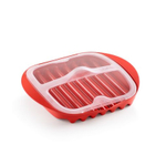 Lekue Red Microwave Bacon Cooker
