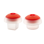 Lekue OVO Square and Cylinder Egg Cooker, Set of 2