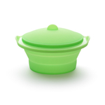 Lekue Green Collapsible 2.5 Quart Steamer