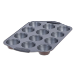 Maker Homeware Copper Bronze 12 Cup Muffin Pan