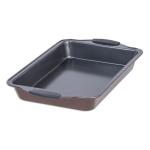 Maker Homeware Copper Bronze 13 x 9 Inch Oblong Cake Pan