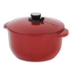 Maker Homeware Red 8 Quart Classic Smart Steam
