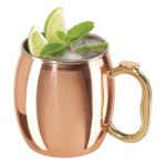 Copper-Plated 20 Ounce Moscow Mule Drinking Mug, Set of 2