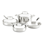 All-Clad d7 Stainless Steel 7 Piece Cookware Set