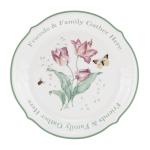 Lenox Butterfly Meadow Sentiment 12 Inch Platter