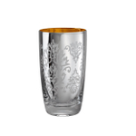 Artland Brocade Silver 18 Ounce Highball Glass