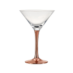 Artland Coppertino 8 Ounce Martini Glass