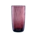 Artland Pebbles Purple 18 Ounce Highball Glass