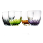 Artland Solar 11 Ounce Double Old Fashioned Glass, Set of 4