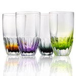 Artland Solar 14 Ounce Double Old Fashioned Glass, Set of 4