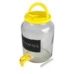 Artland Tailgate Take-Along Yellow 3.25 Liter Beverage Dispenser