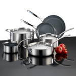 Lagostina Axia Tri-Ply Stainless Ceramic 13 Piece Cookware Set