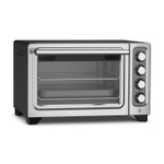 KitchenAid KCO253BM Black Diamond Standard Countertop Compact Oven