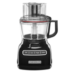 KitchenAid KFP0933OB Onyx Black 9 Cup Food Processor with ExactSlice System