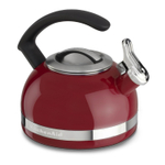KitchenAid KTEN20CBER Empire Red 2 Quart Kettle with C Handle and Trim Band