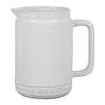 Le Creuset White Enameled Stoneware 20 Ounce Sauce Jug