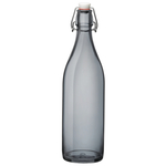 Bormioli Rocco Giara Gray 33.75 Ounce Glass Bottle