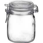 Bormioli Rocco Fido Glass 30 Ounce Storage Jar