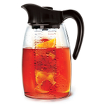 Primula Infusion Flavor It 2.9 Quart Pitcher with Black Handle