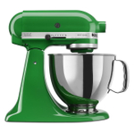 KitchenAid KSM150PSCG Artisan Series Canopy Green 5 Quart Tilt-Head Stand Mixer with Pouring Shield