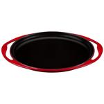 Le Creuset Cherry Enameled Cast Iron Sizzle Platter