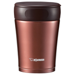 Zojirushi Nut Brown Stainless Steel 12 Ounce Insulated Food Jar