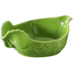 Revol Happy Cuisine Lime Green Porcelain 7 Ounce Poultry Dish