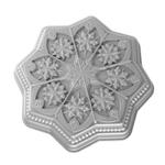 Nordic Ware Sweet Snowflakes Cast Aluminum Shortbread Pan