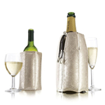 Vacu Vin Platinum 2 Piece Active Cooler Wine & Champagne Set