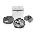 KitchenAid KFP16DC12 12mm Commercial Style Dicing Accessory Kit for 16 Cup Food Processor