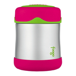 Thermos Foogo Watermelon with Green Accents Stainless Steel Vacuum Insulated 10 Ounce Food Jar