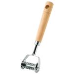 Fox Run Small 1.6 Inch Wavy Ravioli Cutter with Wood Handle