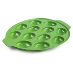 Zak Designs Green Sprinkles 12 Egg Serving Tray
