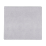 Modern Twist Linen Silver Silicone Placemat