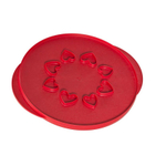 Nordic Ware 12 Inch Reversible Lattice & Hearts Pie Top Cutter