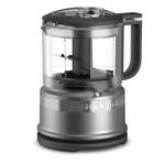 KitchenAid KFC3516CU Contour Silver 3.5 Cup Mini Food Processor