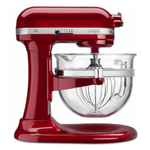 KitchenAid KF26M22CA Professional 600 Design Series Candy Apple Red 6-Quart Bowl-Lift Stand Mixer