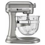 KitchenAid KF26M22SR Professional 600 Design Series Sugar Pearl Silver 6-Quart Bowl-Lift Stand Mixer