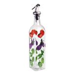 Grant Howard Whimsical Veggies Glass 16 Ounce Oil and Vinegar Cruet