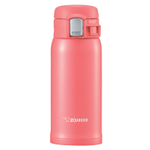 Zojirushi Coral Pink Stainless Steel Vacuum Insulated 12 Ounce Travel Mug
