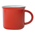 Canvas Home Red Tinware 16 Ounce Mug