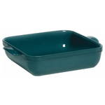 Emile Henry Blue Flame Ceramic 2.5 Quart Square Baking Dish
