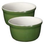 Emile Henry Spring Ceramic 7.6 Ounce Ramekin, Set of 2
